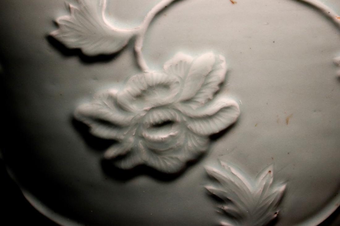 Chinese Ming Porcelain Celadon Fishbowl - 2