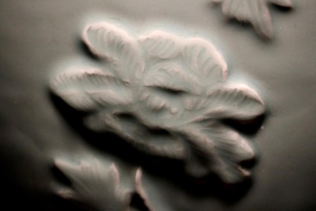 Chinese Ming Porcelain Celadon Fishbowl - 5