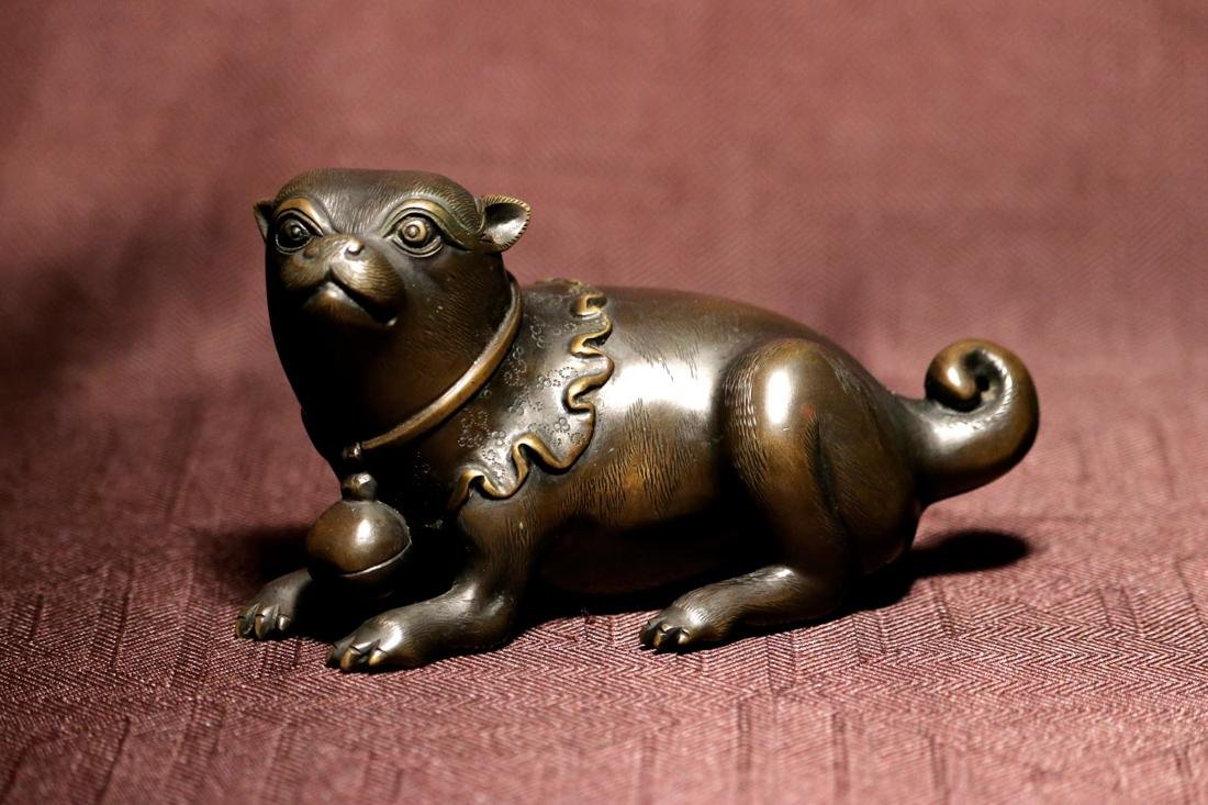 Japanese Bronze Puppy