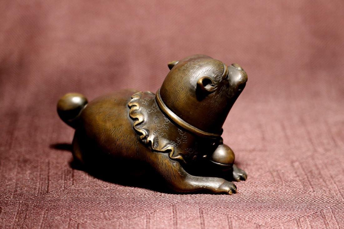 Japanese Bronze Puppy - 4