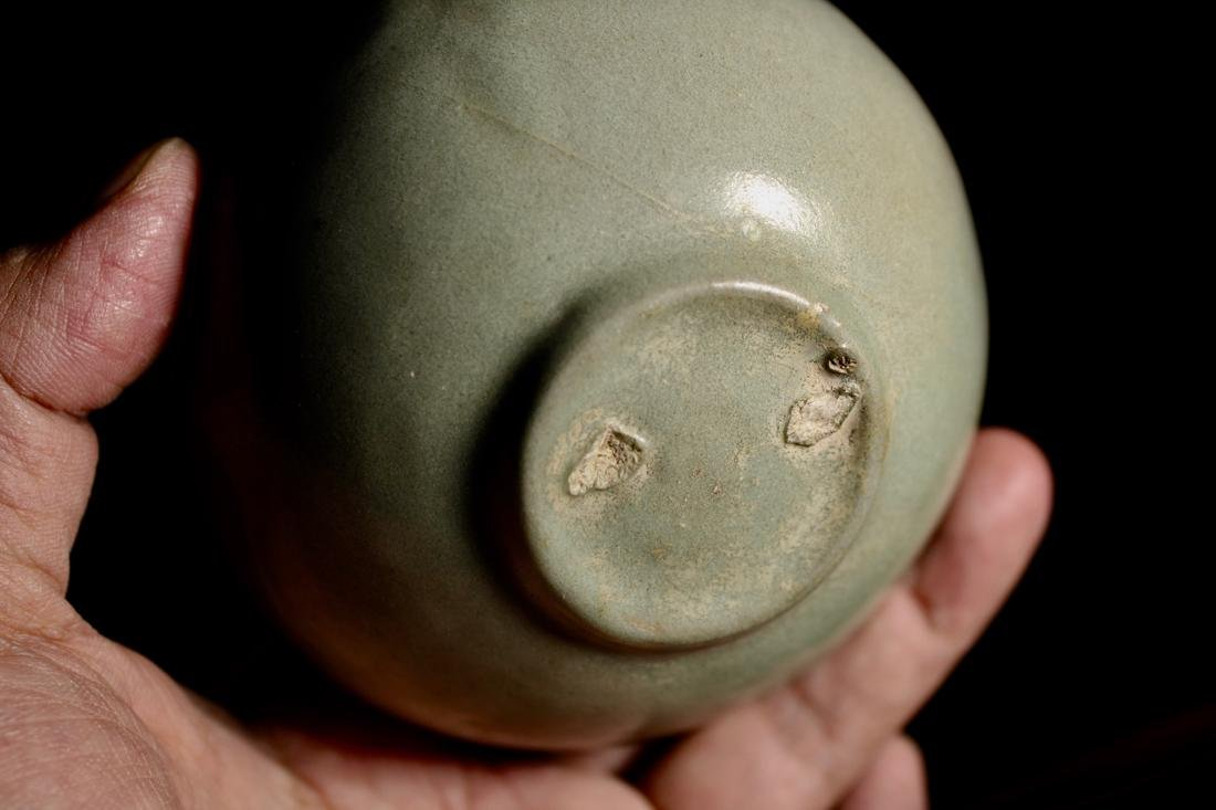 Early Korean Celadon Bowl - Boy Scene - 7