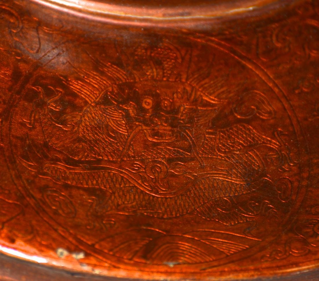 Unusual Chinese Imperial Kangxi Lacquer Hat - 8