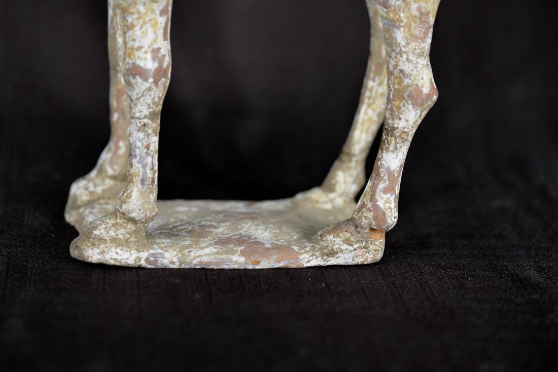 Chinese Han Pottery Camel - Standing - 4
