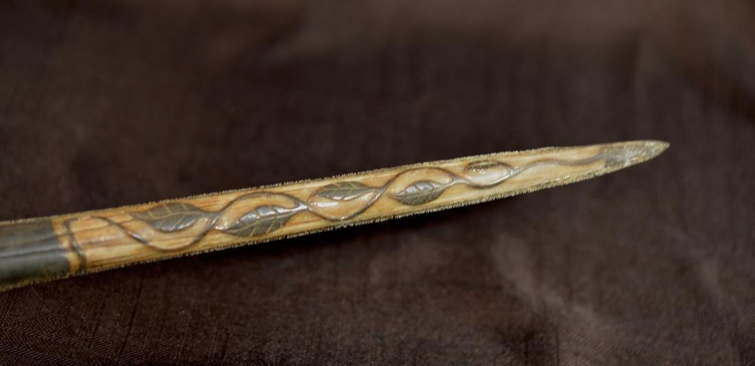 Unusual Sword Fish Dagger Sword with Horn Handle - 3