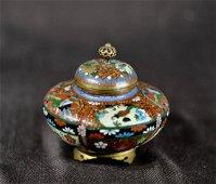 Japanese Cloisonne Small Censer