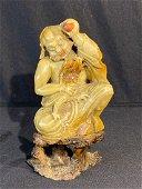 Chinese Carved Soapstone Elder