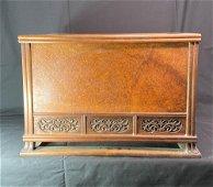 Japanese Wood Hibachi - Signed