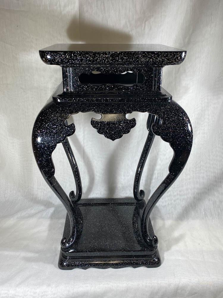 Japanese Lacquer Censer Stand with Mother of Pearl