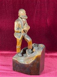 Anri Wood Carving - Old Man