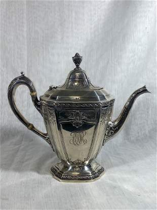 Reed and Barton Sterling Silver Coffee Pot