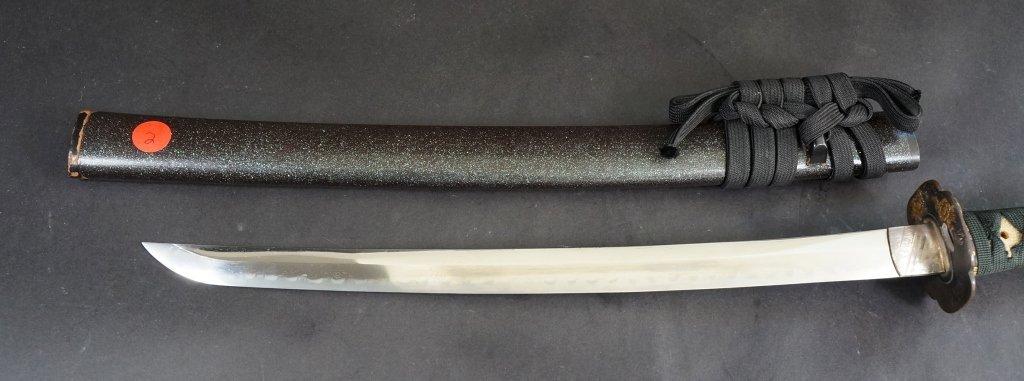 2: Japanese Wakizashi Sword