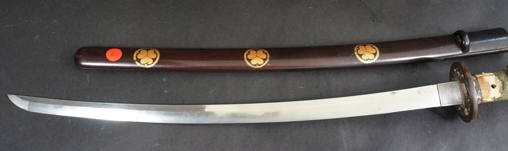 3: Japanese Wakizashi Sword