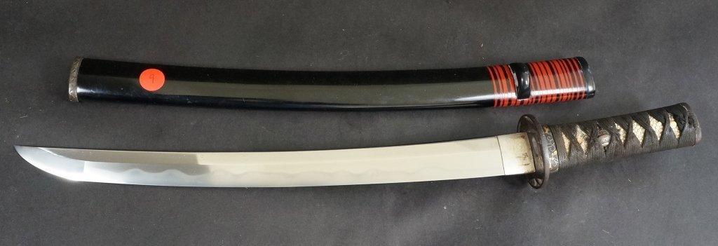 9: Japanese Wakizashi Sword