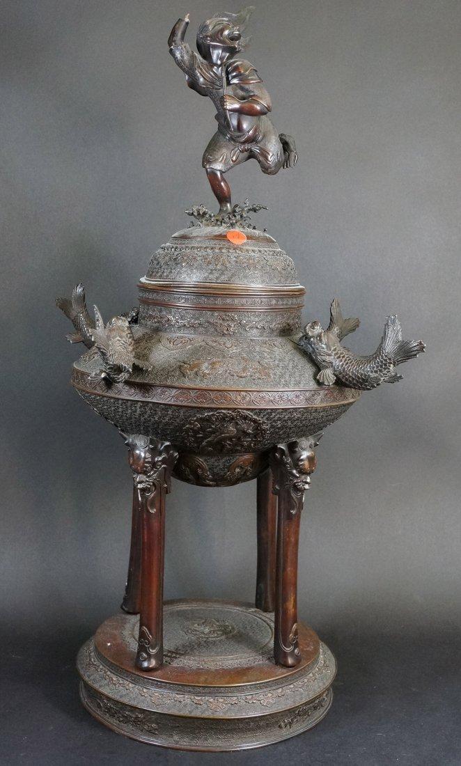 19: Fine Japanese Bronze Censer