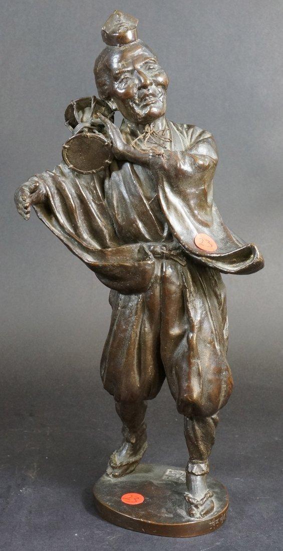 23: Japanese Bronze Dancer