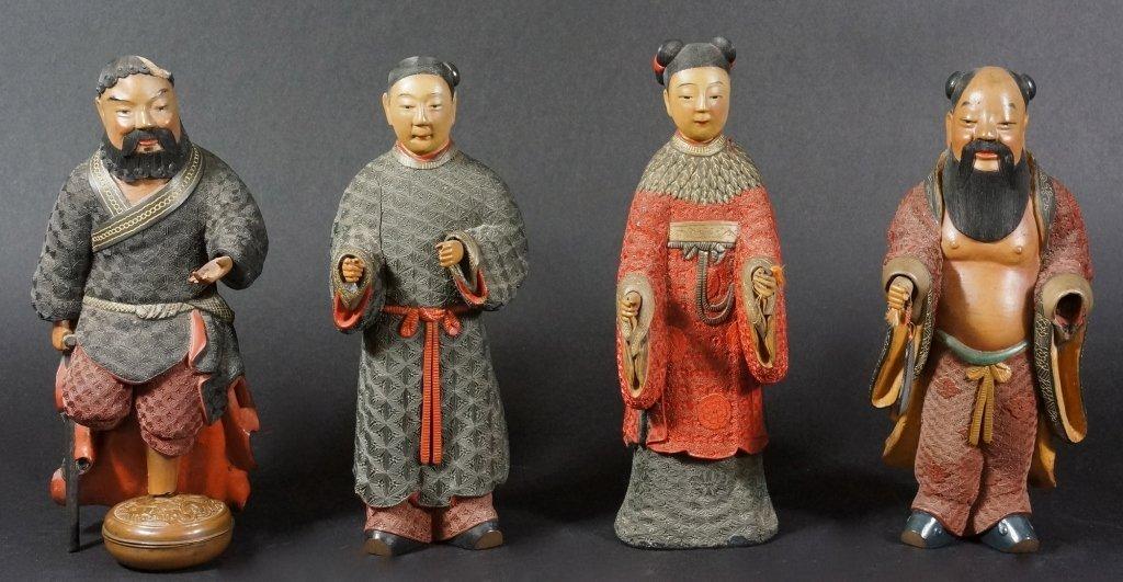 81: Rare Chinese Cinnabar Immortals