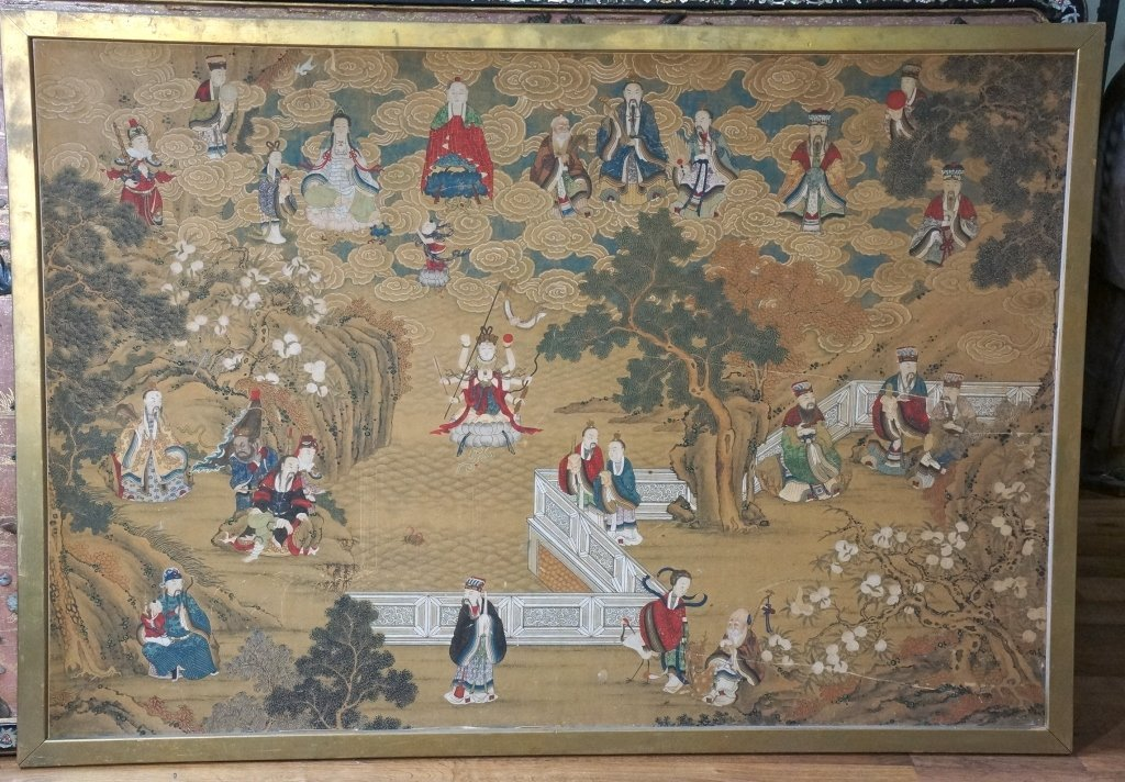 482: Chinese Immortal Painting