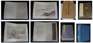 525 Chinese Painting Album of 12 Leaves