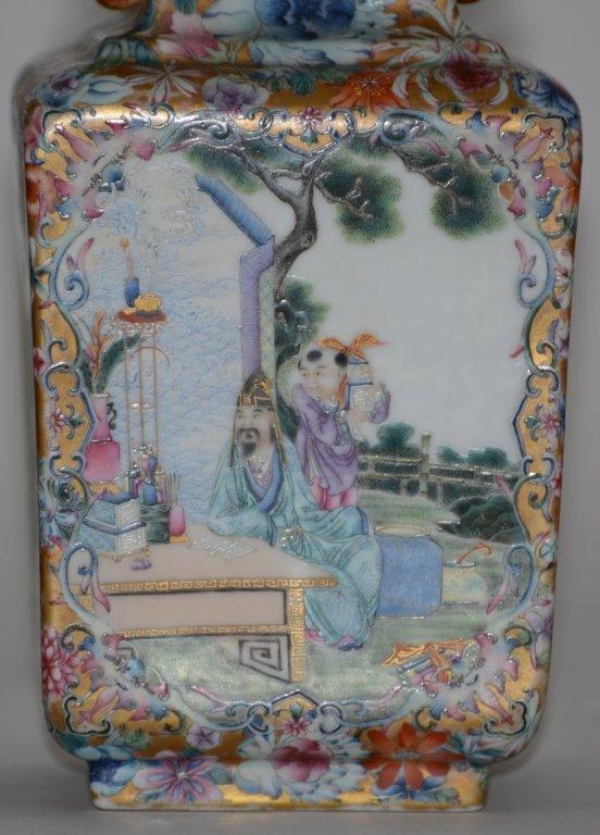 Fine Pair of Chinese Republic Porcelain Vases - 2