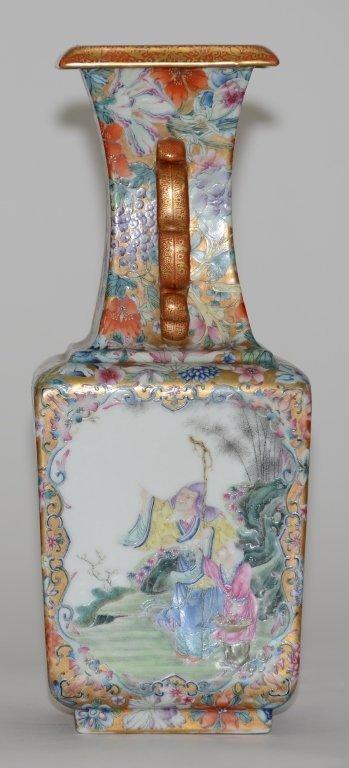 Fine Pair of Chinese Republic Porcelain Vases - 4
