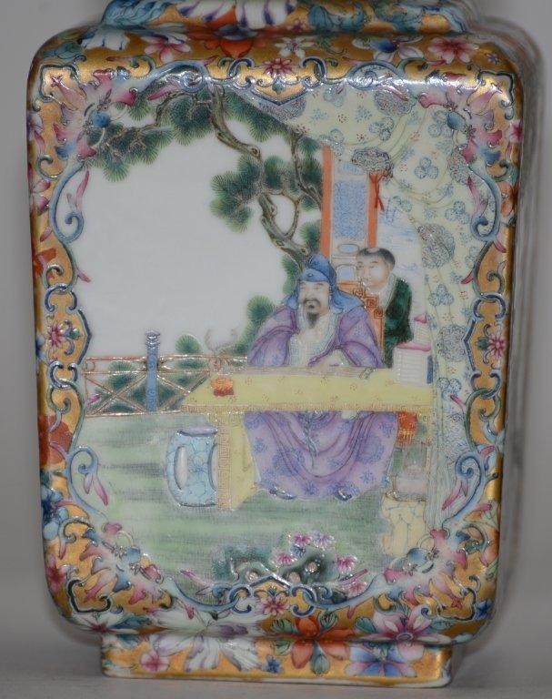 Fine Pair of Chinese Republic Porcelain Vases - 5