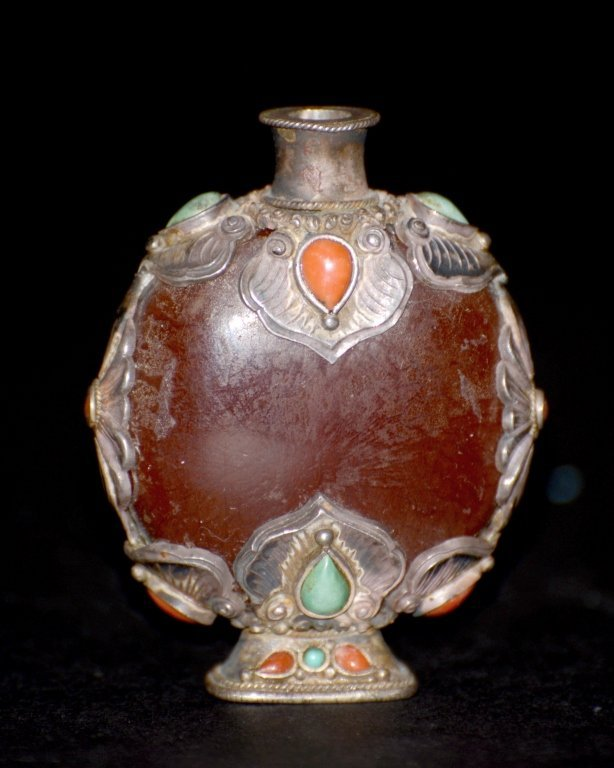 Sino-Mongolian Snuff Bottle