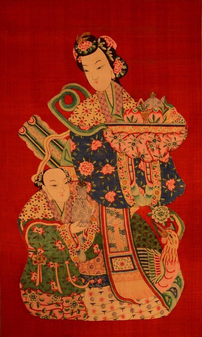 Chinese Kesi of Beauty