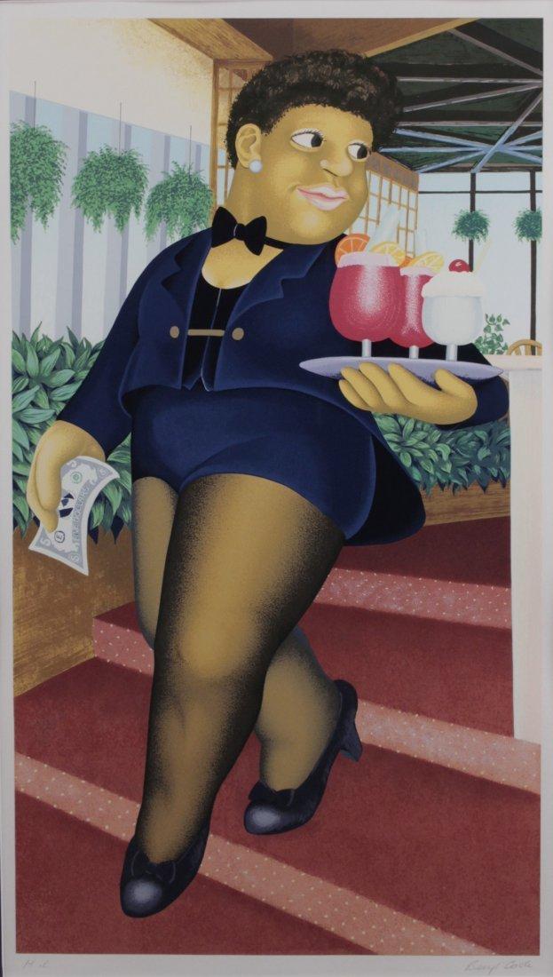 Beryl Cook (1926-2008) Brit Signed Master Pr Silkscreen