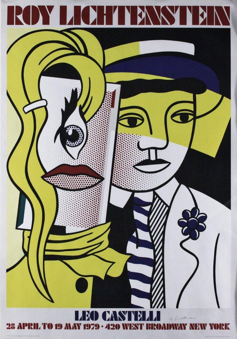 Roy Lichtenstein (1923-1997) Signed Pop Art Poster