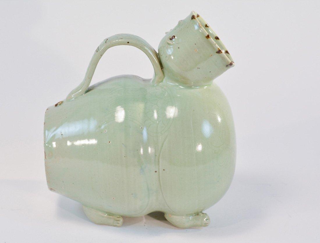 Early Chinese Ceramic Celadon Ewer
