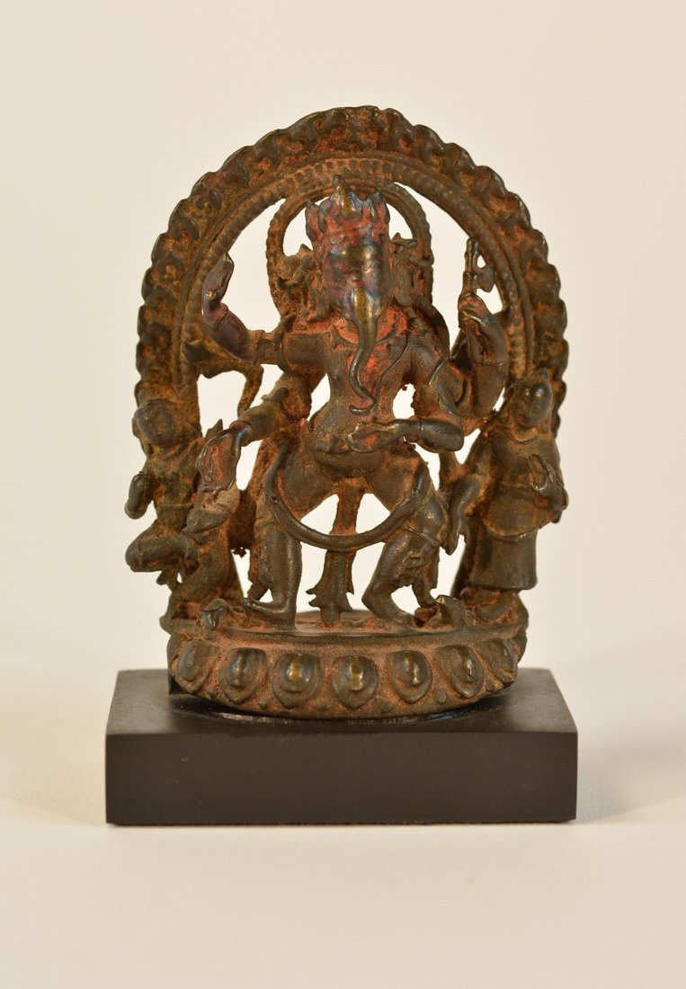 Early Nepalese Figurine with Indian Influence