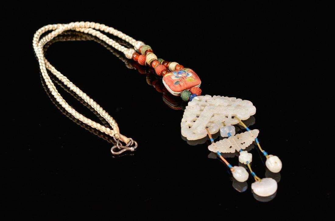 Chinese Jade Pedant Necklace