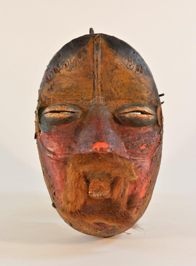 Antique Carved Africa Dan Mask