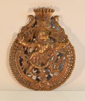 Indian Bronze Hunamen Roudle