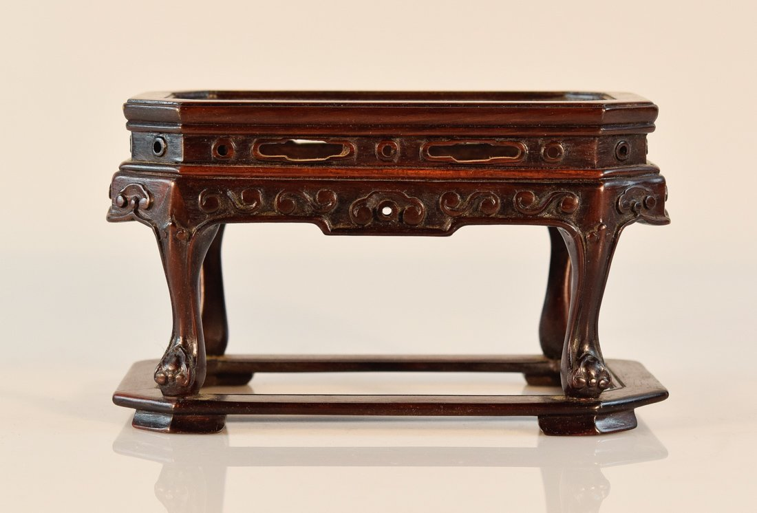 Chinese Rosewood Miniture Table Model