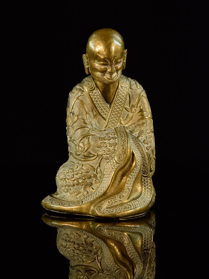 Chinese Bronze Lohan
