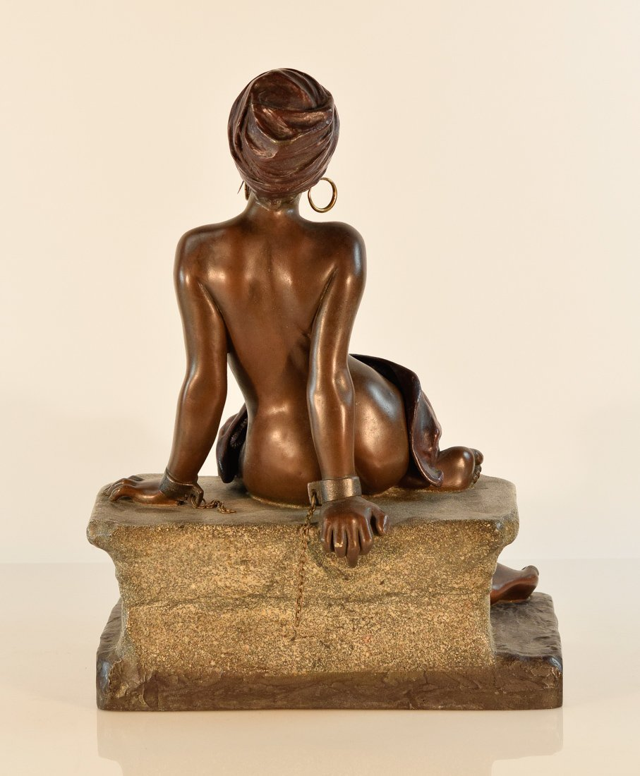 French Bronze Study of a Nude Seated Beauty - 10