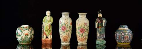 Collection of Asian Porcelain Articles