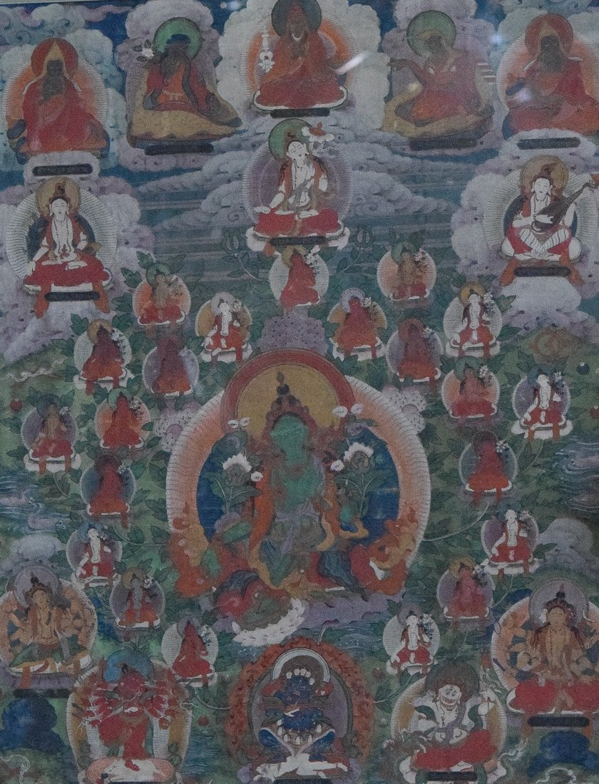 Tibetan Thangka of Tara