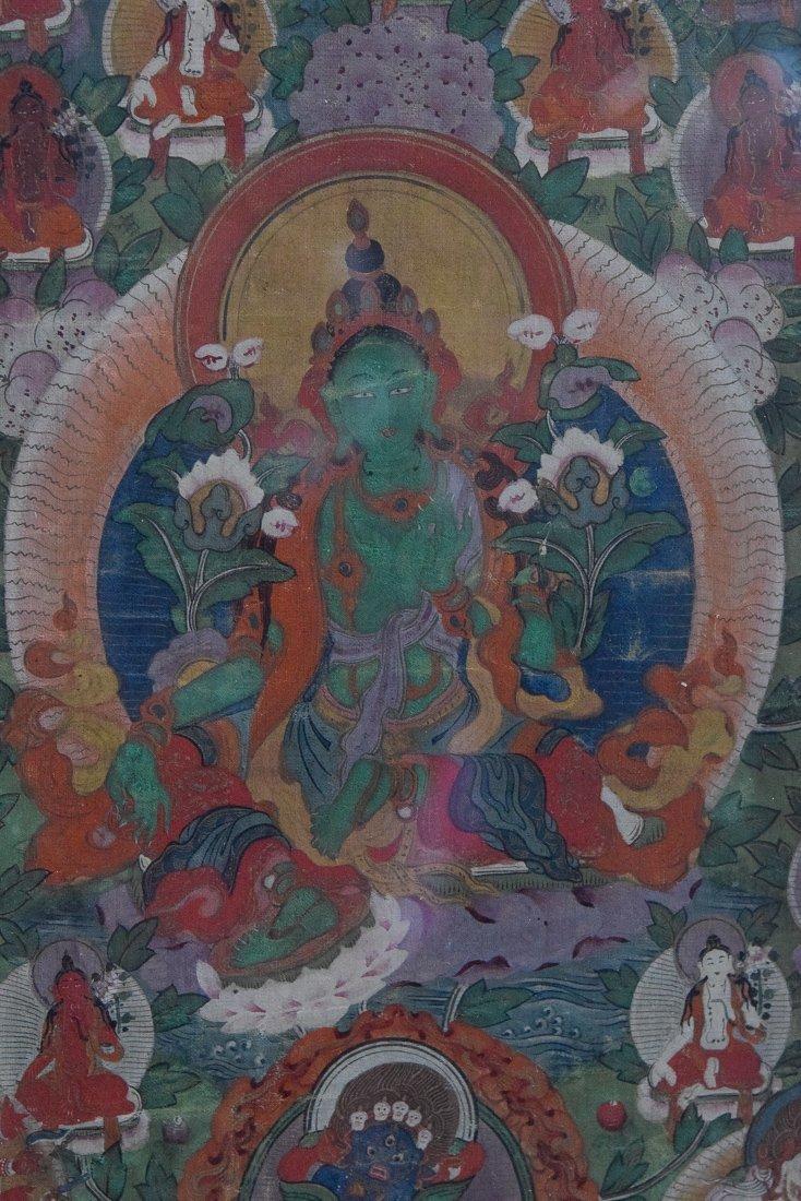 Tibetan Thangka of Tara - 2
