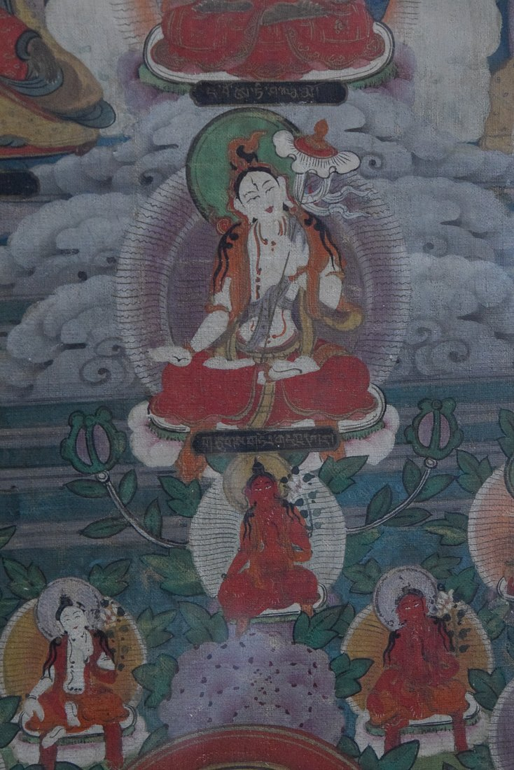Tibetan Thangka of Tara - 3