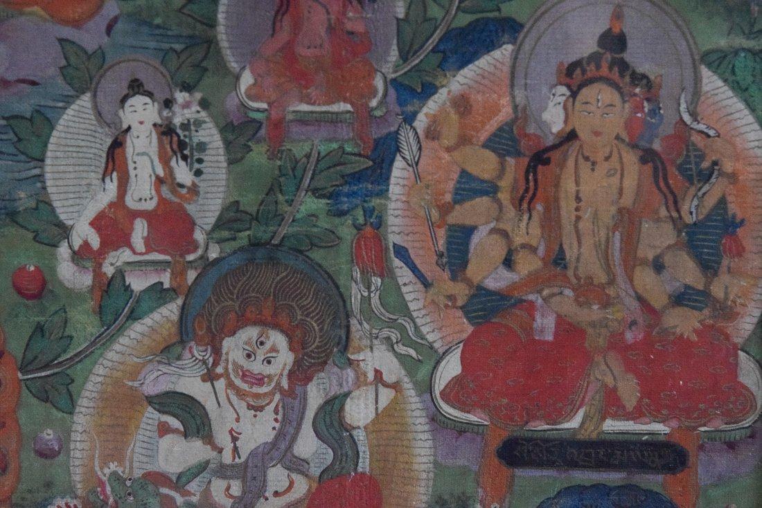 Tibetan Thangka of Tara - 8