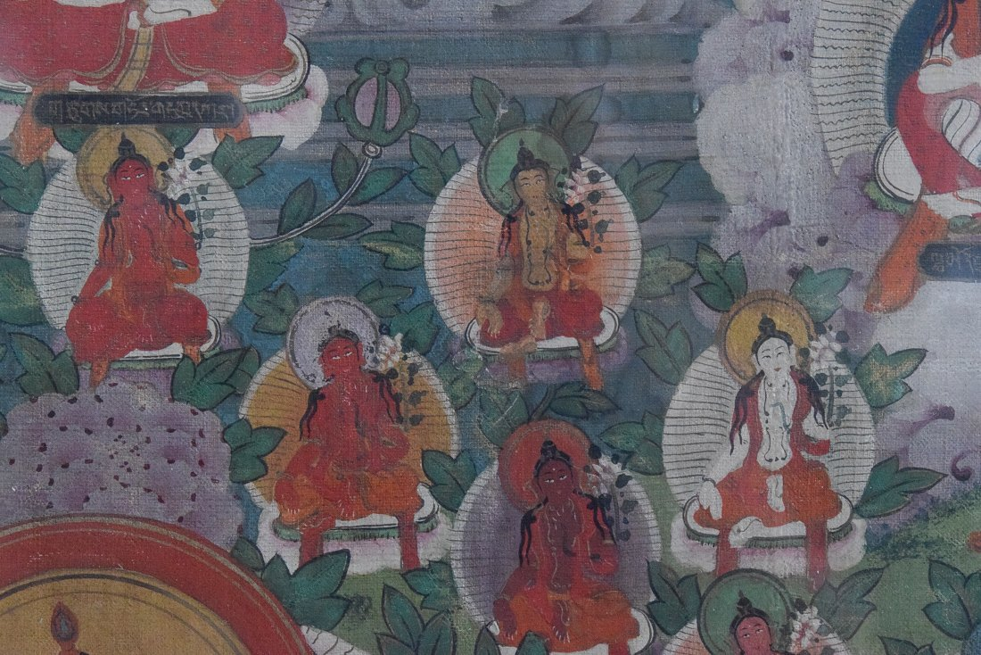 Tibetan Thangka of Tara - 9