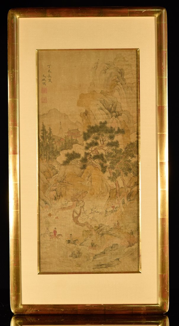 Chinese Landscape and Figural Painting