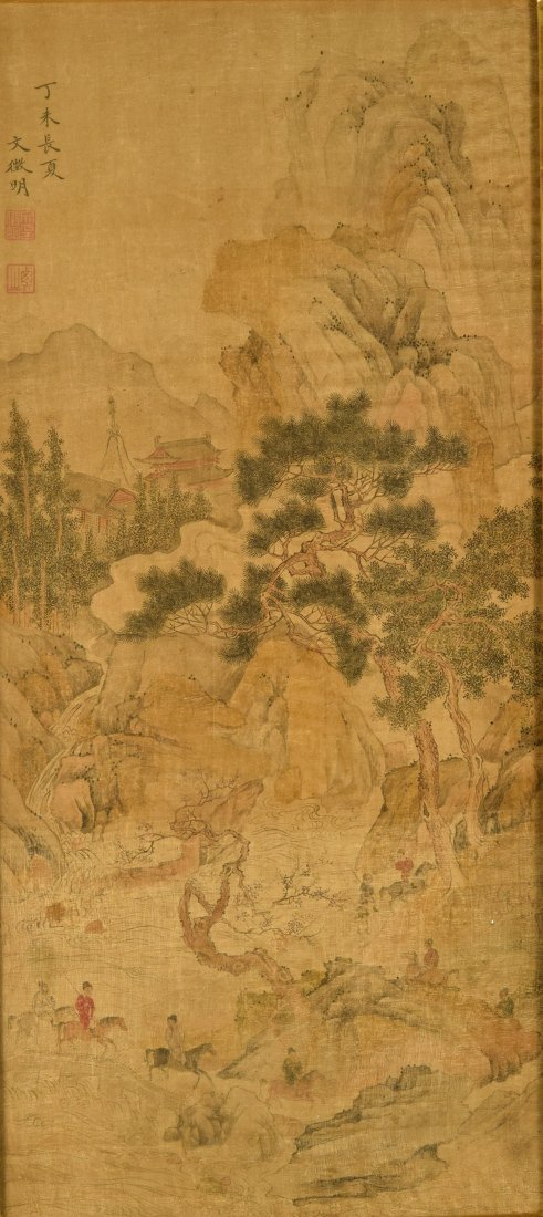 Chinese Landscape and Figural Painting - 2