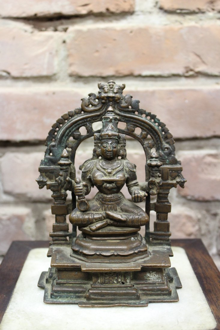 Indian Bronze Diety with Four Arms