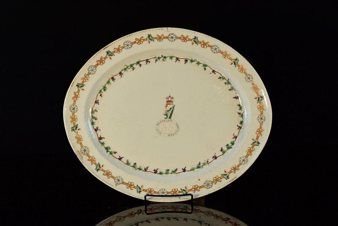 Quis Separatist MDCCLXXXIII Chinese Export Porcelain