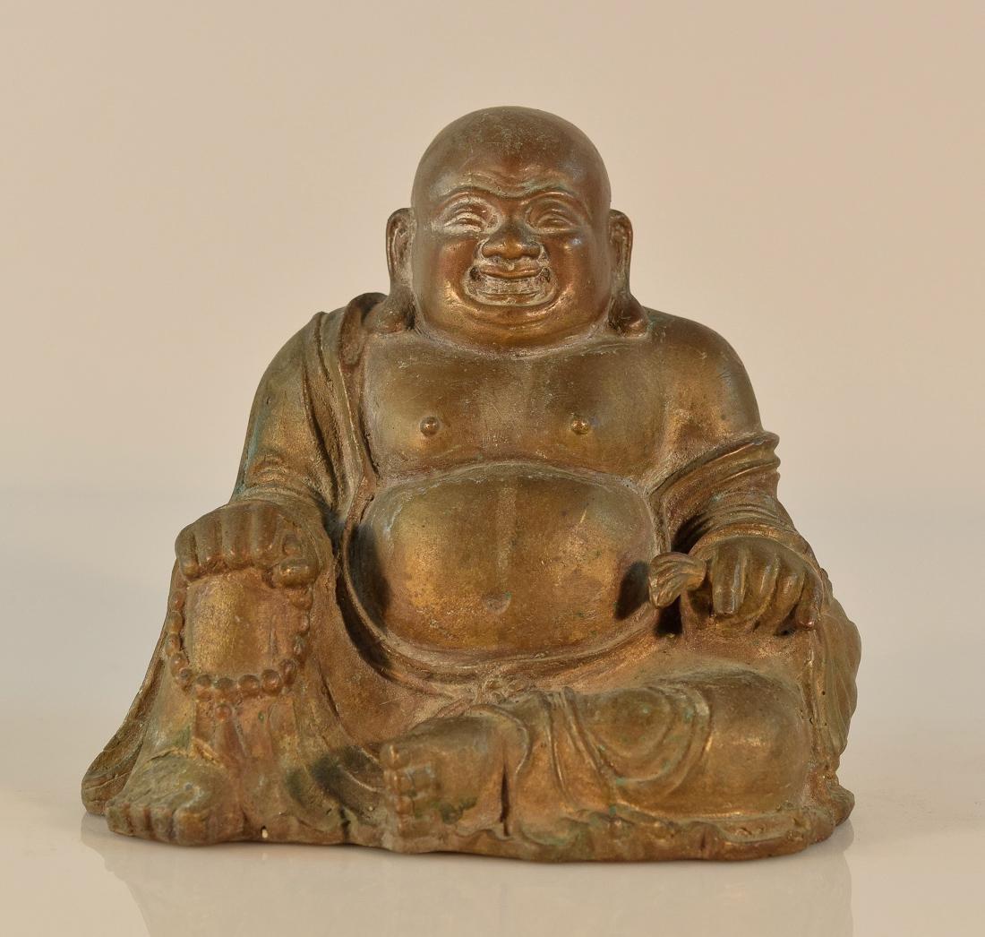 Chinese Bronze Hotei