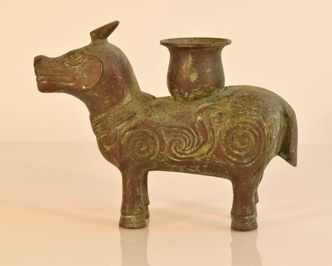 Chinese Bronze Beast