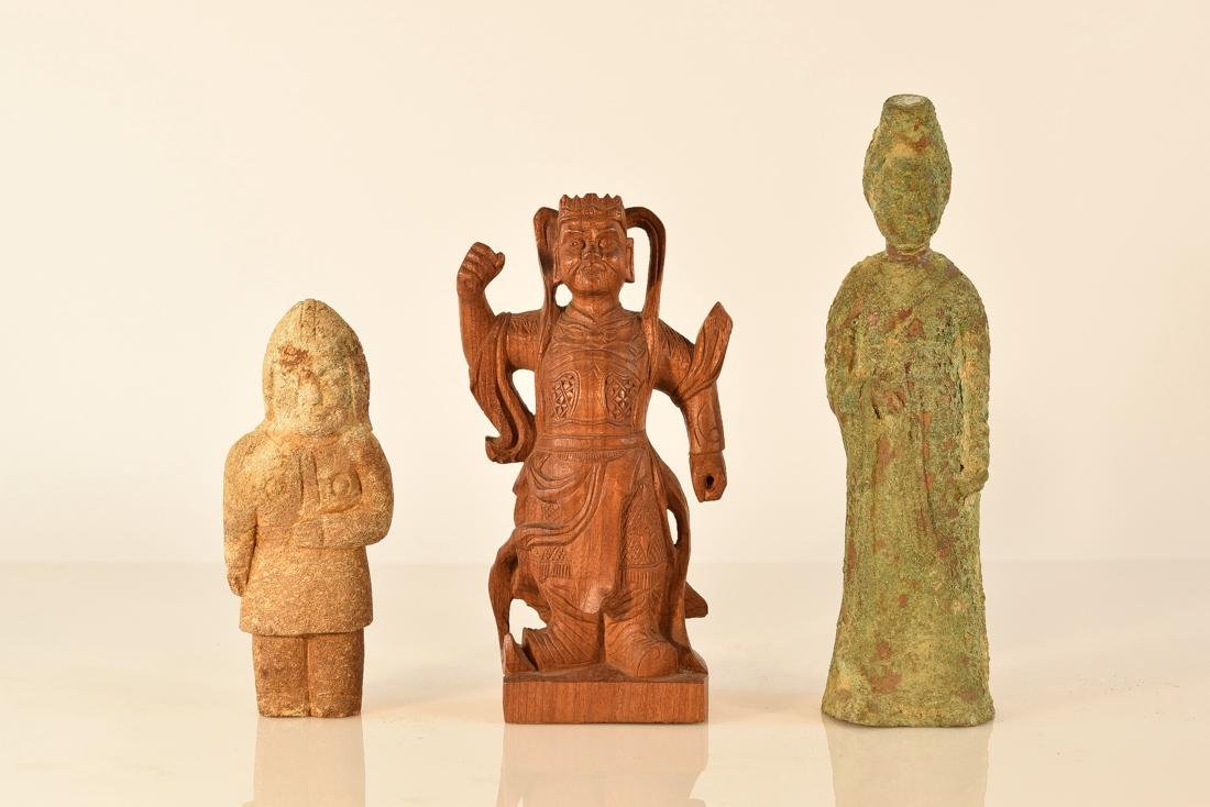Group of Three Chinese Figurines